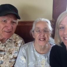 We love you Dad  - Debra Davis