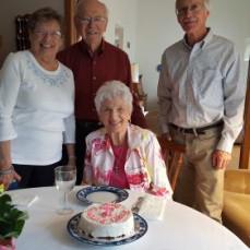 Joanne, Charles, June, Roger - Roger Faborg