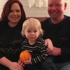 Kelly, Jake and Erik Christmas 2017 - Denise Matson