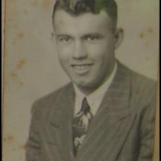 Glen as treasurer of class of '49 Milford Twp  - Dale Hughes