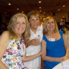 Our last class reunion, I am on the left, Carol Giles Carlson on the rifght. - Ruthie Richardson