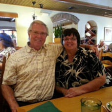 Gloria & her brother, Lee - Angela Gallogly