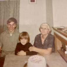 Bob, Karla, and Grandma Goebel - Karla Sisco