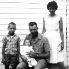 Bob, Uncle Velmer, Karla and Laraine - Karla Sisco