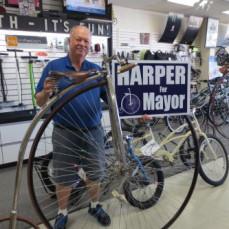 Charlie Harper for Mayor, Minion and Schwinut. - Charlie Harper