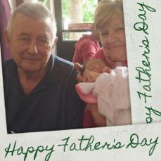 The best dad, grandpa, great grandpa - Jackie Montedonico