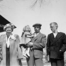 Oneta Shreve Trousdale , Linda Lee Trousdale, Merle M. Trousdale, Jon J. Trousdale, April 17, 1949 - Gordon G. Trousdale