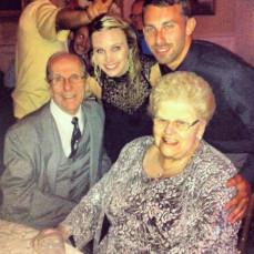 My beautiful grandmother. - Samantha Wilson