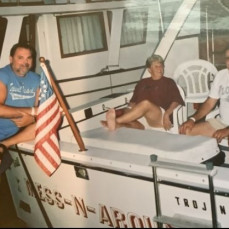 """""""Mess-n-around"""" with Harold, Linda and Bobby....gone but not forgotten!!! - Herb Timm"""